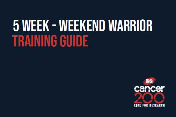 5W Weekend Warrior Training Guide