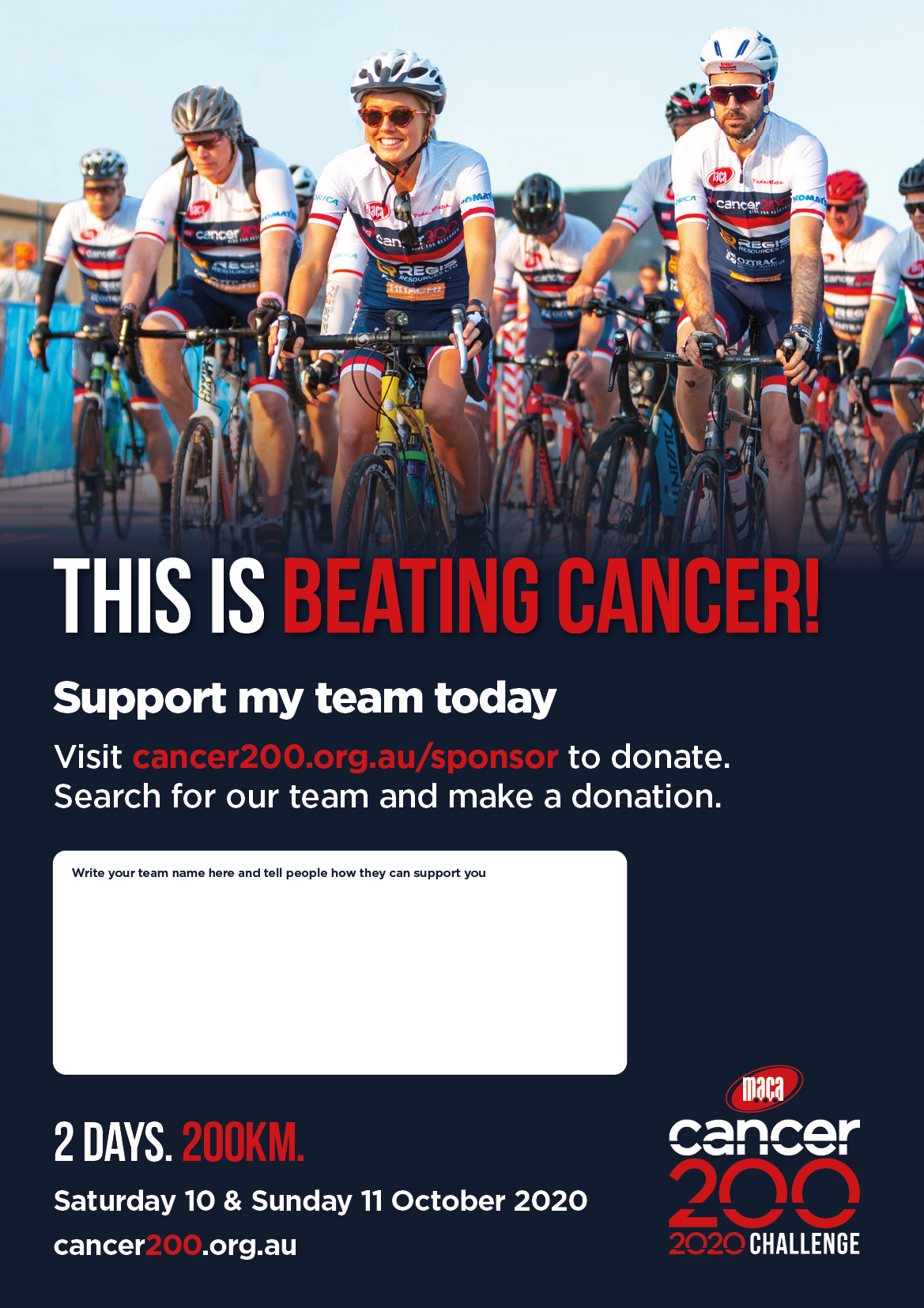 Donate A3 Posters Team 1