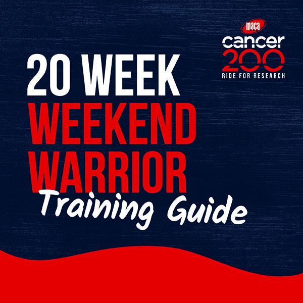 20W Weekend Warrior Training Guide