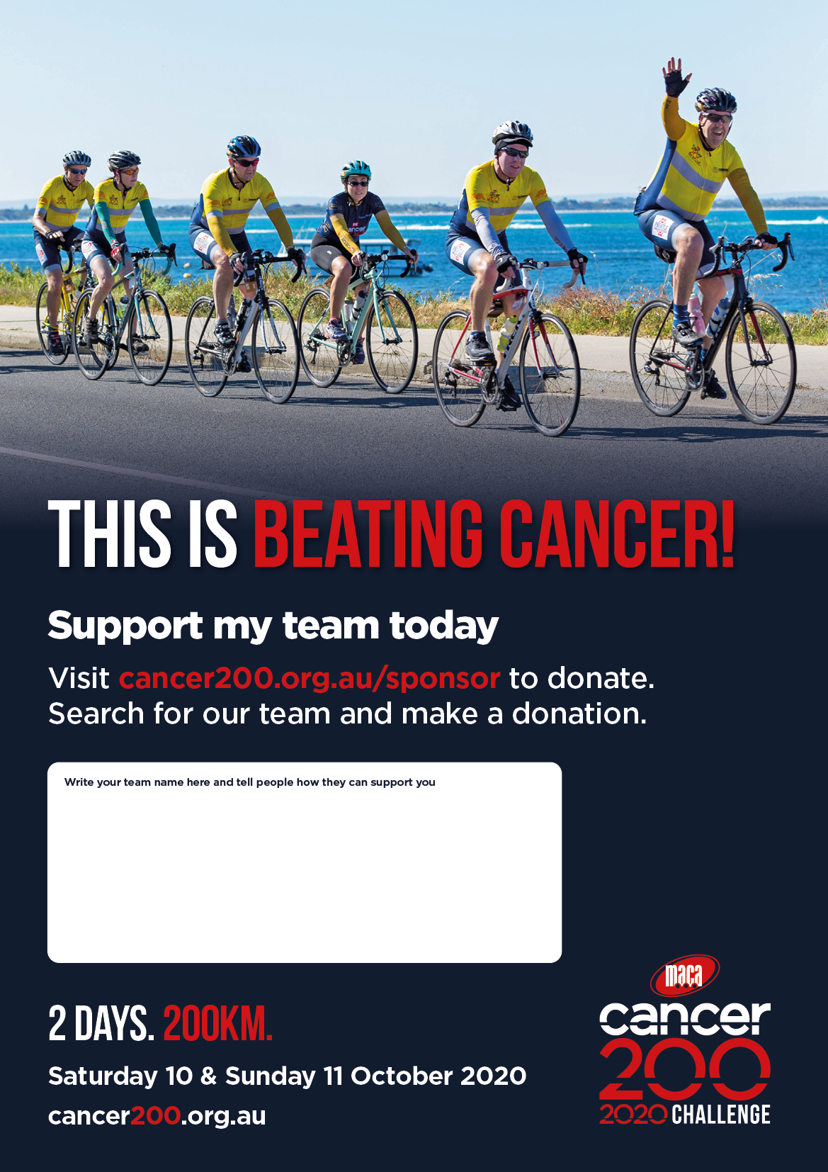Donate A3 Posters Team 2