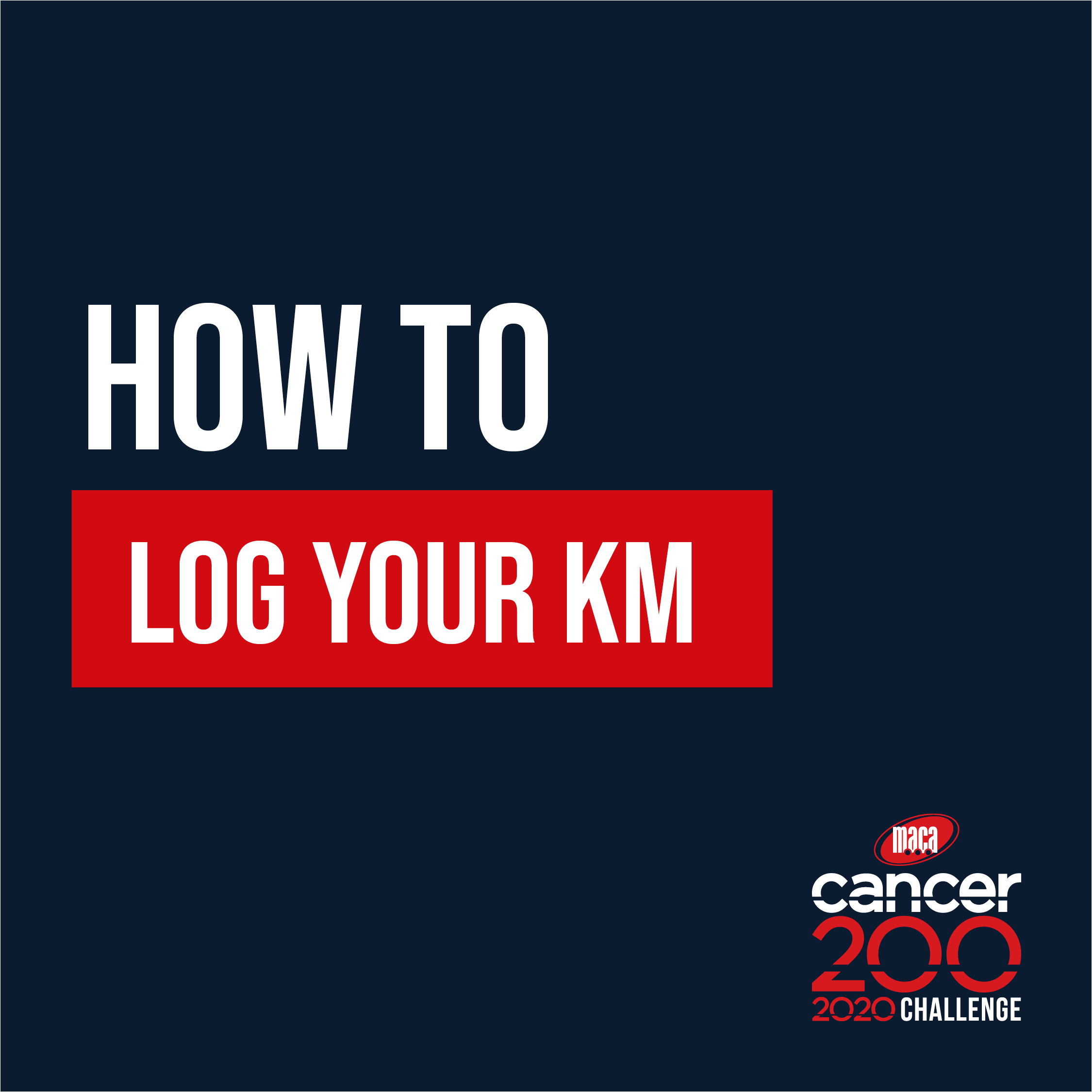 How to log Km