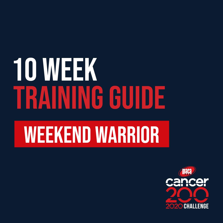 10W Weekend Warrior Training Guide