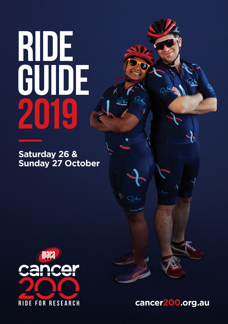 Cancer 200 Ride Guide